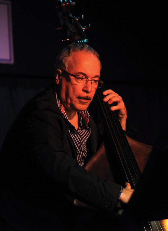 """Eddie Gomez at the Blue Note in May 2010, during the performances that became """"Further Explorations"""""""