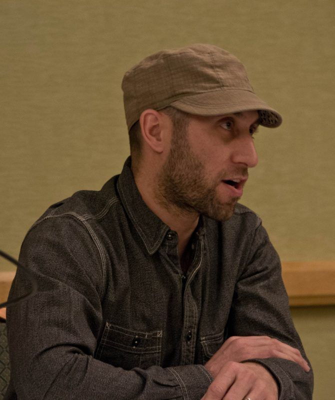 Brice Rosenbloom, producer of Winter Jazzfest and Undead Music Fest in NYC, talks at workshop on presenting & touring during the JazzTimes DIY Crash Course in January 2012, as part of Jazz Connect at APAP|NYC