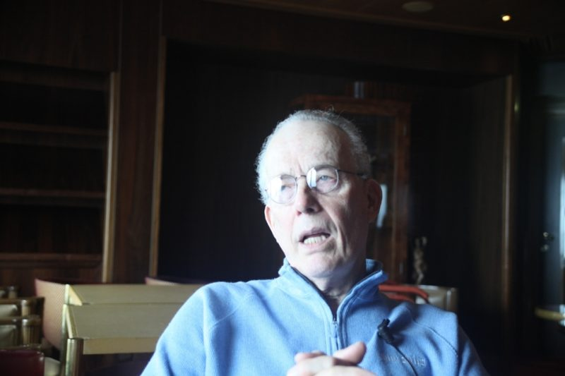 Jay Leonhart, during video interview on the Jazz Cruise 2012