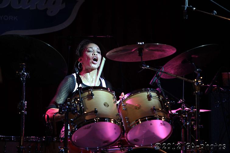 Cindy Blackman Santana with Spectrum Road, B.B. King's, NYC, 6-12