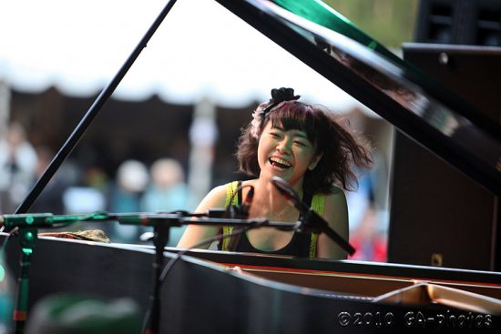 Hiromi at the 2010 Telluride Jazz Celebration image 0