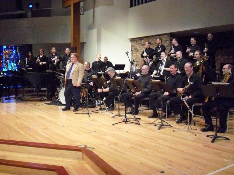 Joel Kaye and the Madison Mellophonium Jazz Orchestra debut performance, February 2010
