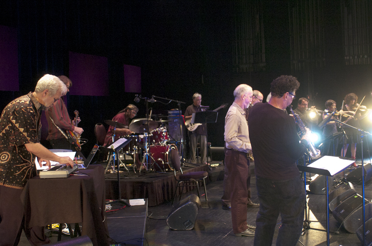 """Performance of Channeling Coltrane """"Electric Ascension"""" at the 2012 Guelph Jazz Festival"""