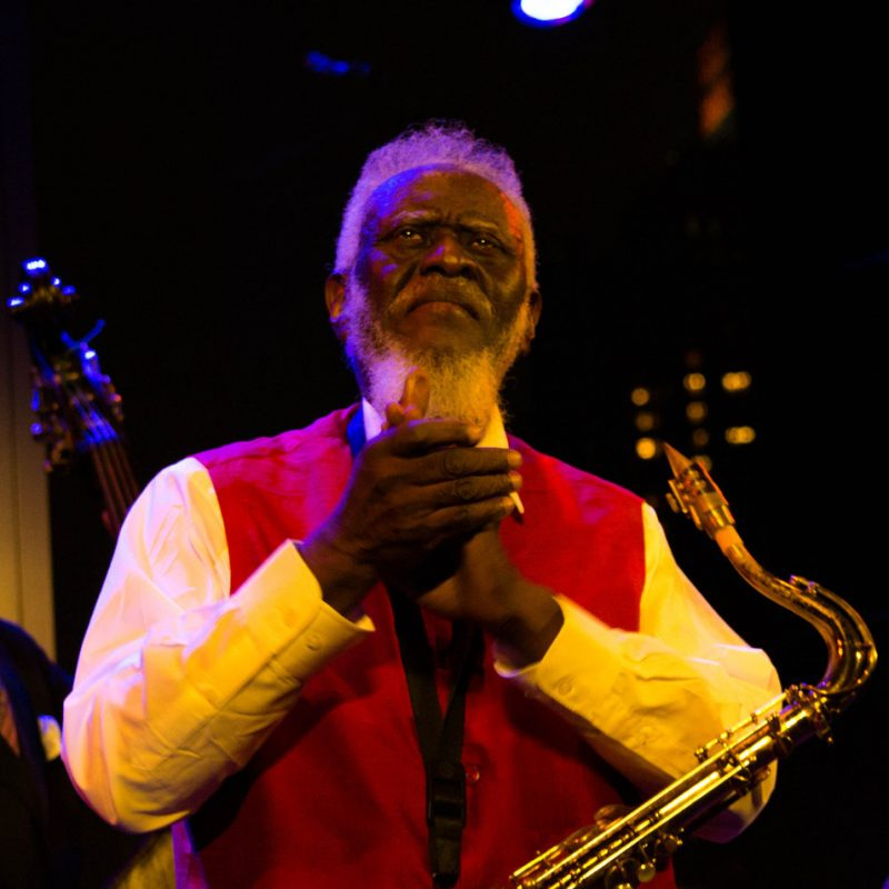 Pharoah Sanders, Dizzy's, NYC, 9-12