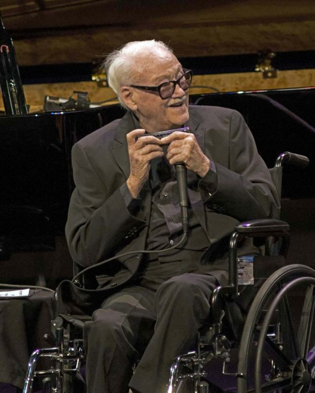 Toots Thielemans at Jazz at Lincoln Center, NYC, September 2012