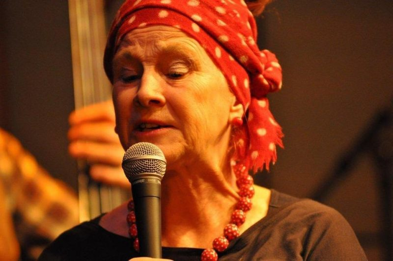 Carol Grimes performing at the Studio - St. James Theatre in London on October 12, 2012
