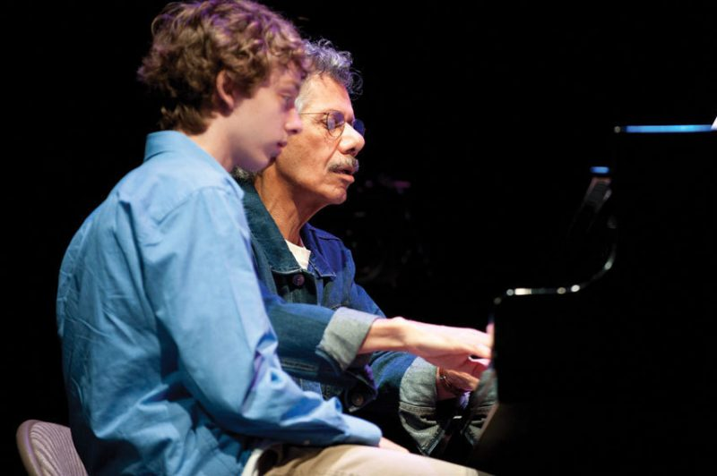 Chick Corea and Jazz House Kids student