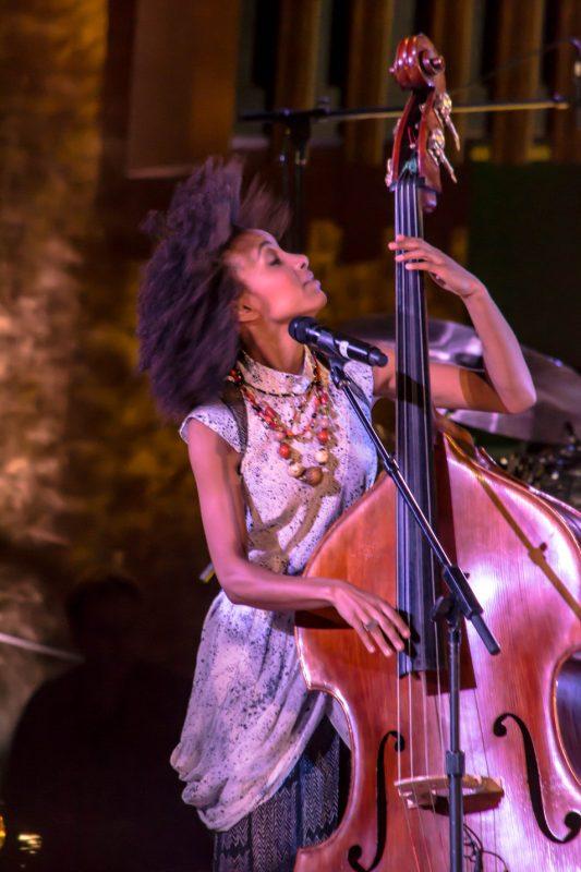 Esperanza Spalding, International Jazz Day, NYC, 4-12