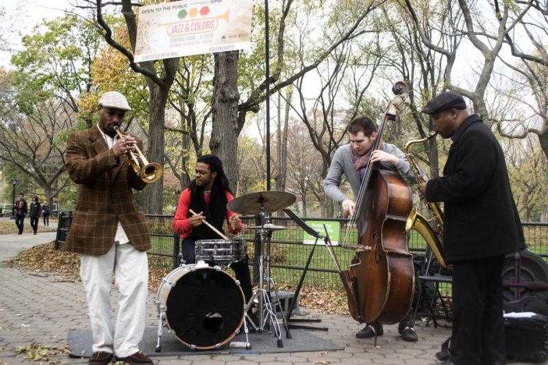 JD Allen Quartet, Jazz & Colors, Central Park, NYC, 11-10-12