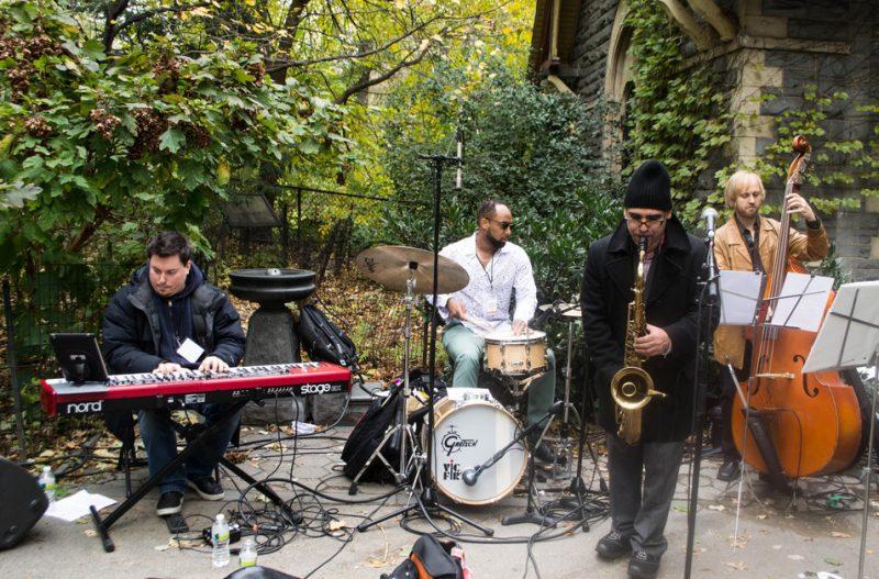 Jacques Schwarz-Bart Quartet, Jazz & Colors, Central Park, NYC, 11-10-12