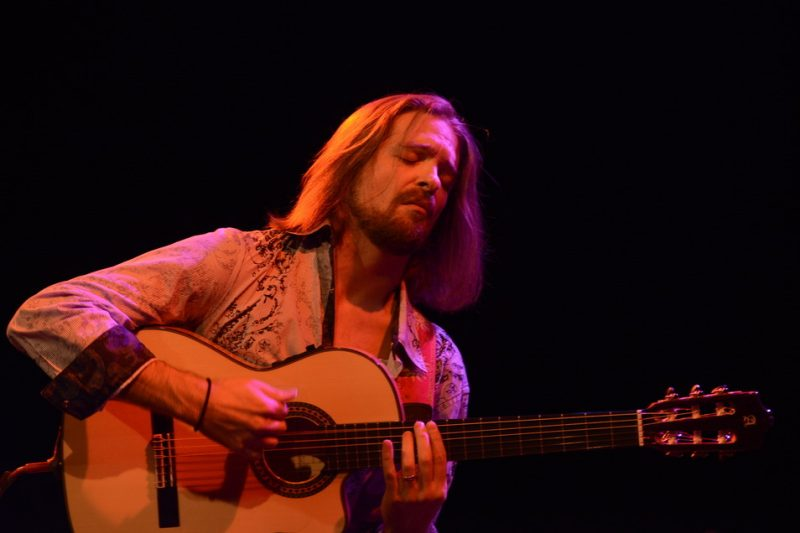 Juanito Pascual at the Somerville Theatre in Somerville, Mass., in November
