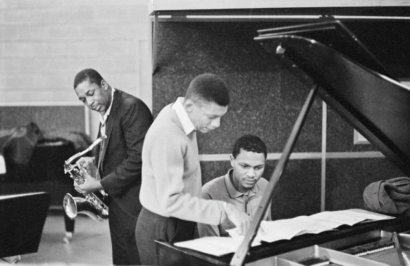 John Coltrane with Johnny Hartman and McCoy Tyner, Van Gelder Studio, Englewood Cliffs, NJ 1963