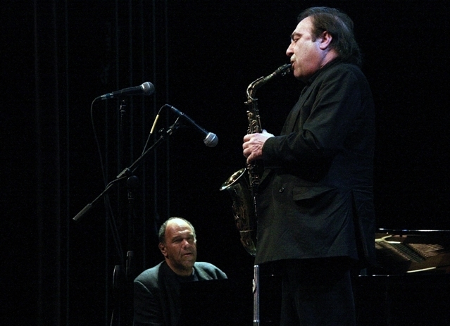 Greg Abate (r.) and Kenny Drew Jr.