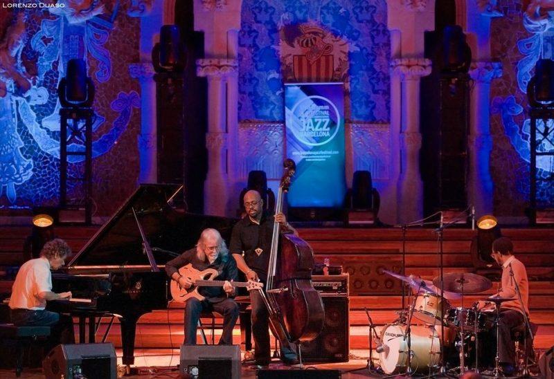 Chick Corea, Carles Benavant, Christian McBride and Brian Blade, Barcelona Jazz Festival 2012