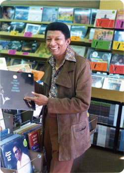 Johnny Hartman at Sabin's Records, Washington, D.C., 1974
