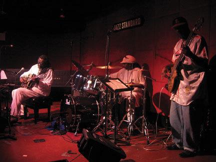 James Blood Ulmer, G. Calvin Weston, Jamaaladeen Tacuma at the Jazz Standard in NYC, 2004