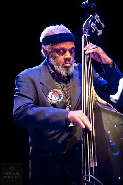 Henry Grimes, Jazz for Obama concert, NYC, 10-12
