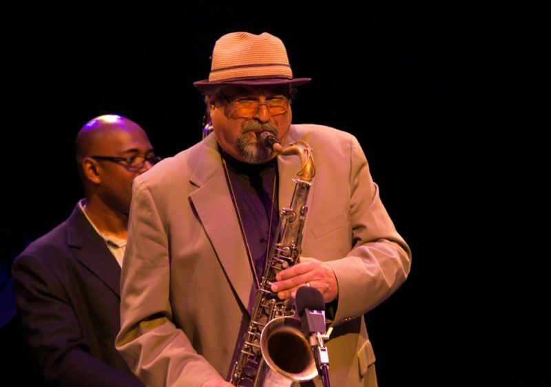Joe Lovano and Christian McBride, Jazz For Obama concert, NYC, 9-12