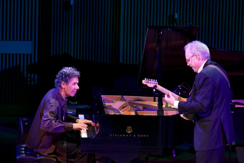 Chick Corea and Bill Frisell, SFJAZZ Center, San Francisco, 1-13
