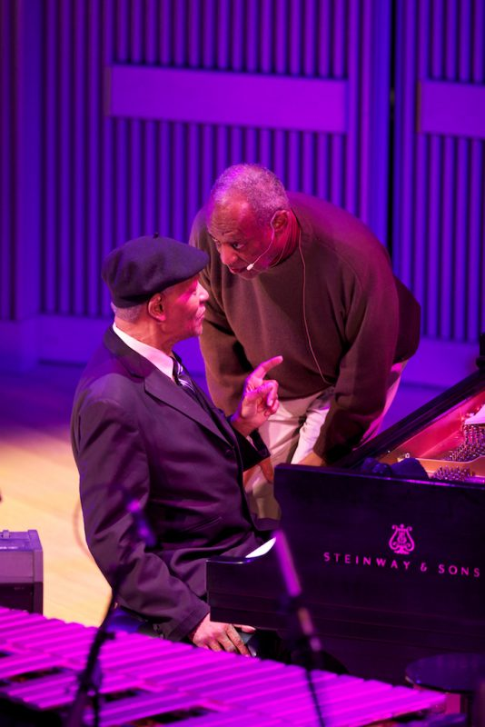 McCoy Tyner with Bill Cosby, SFJAZZ Center, San Francisco, 1-13