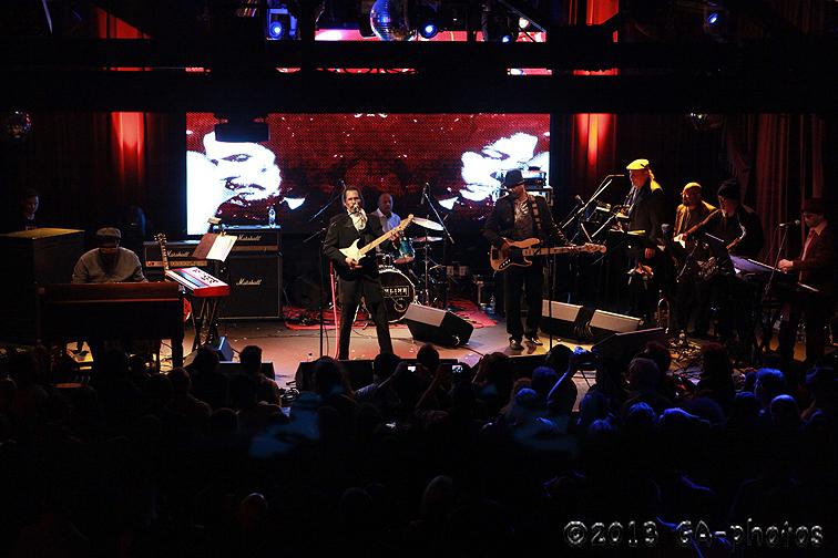 Shuggie Otis and band, Highline Ballroom, NYC 1-10-13