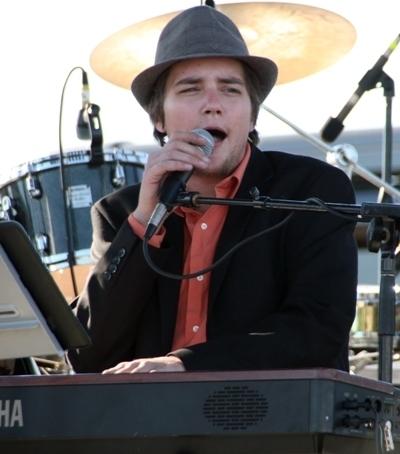 Singer-pianist Danny Sinnott at the 2013 Punta Gorda Wine & Jazz Festival
