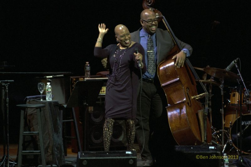 Dee Dee Bridgewater and Christian McBride, Monterey Jazz Festival 55th Anniversary Tour, Philadelphia, 2-13