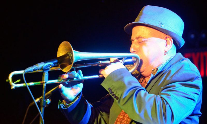 Steven Bernstein performs at Le Poisson Rouge, NYC, as part of the 2012 Undead Music Festival