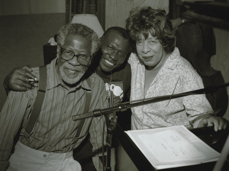 Elvin Jones with Joe Henderson and Shirley Horn, 1995