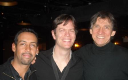 Antonio Sanchez, Donny McCaslin and Russ Davis at Jazz Standard in March 2013