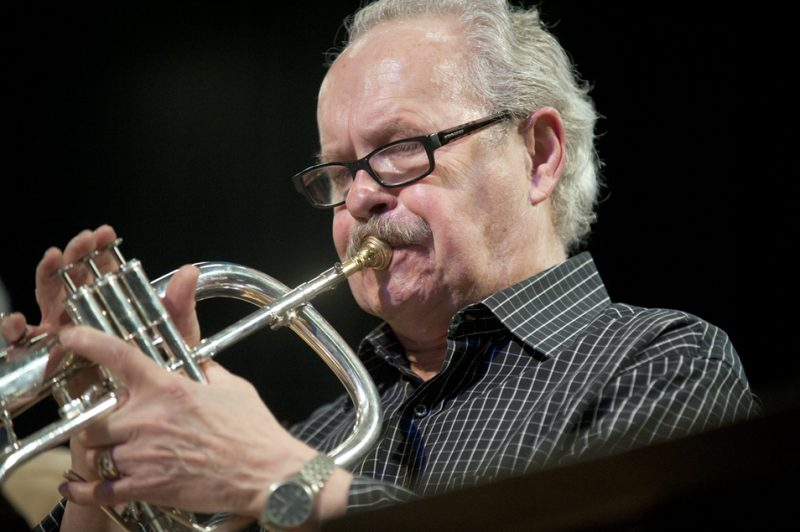 Denny Christianson during residency by Jack DeJohnette at Humber College in Toronto