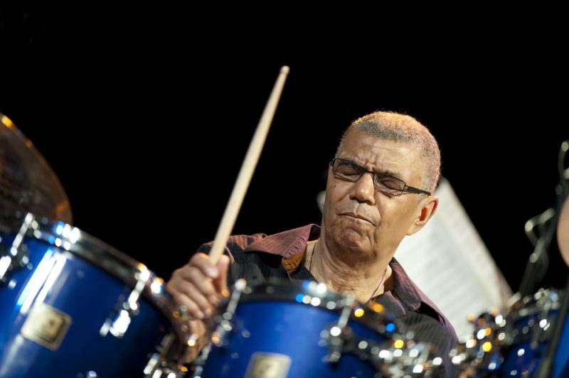 Jack DeJohnette in residence at Humber College in Toronto in March 2013