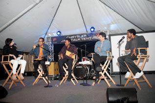 Renee Rosnes, Danilo Perez, Wayne Shorter, John Patitucci and Brian Blade in Detroit, September 2012