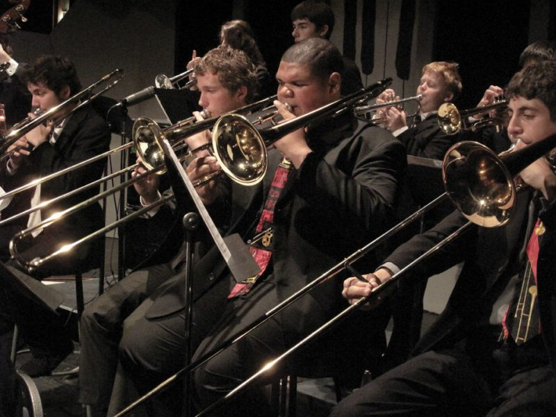 Students perform at San Diego station Jazz 88.3's City College Educational Music Festival