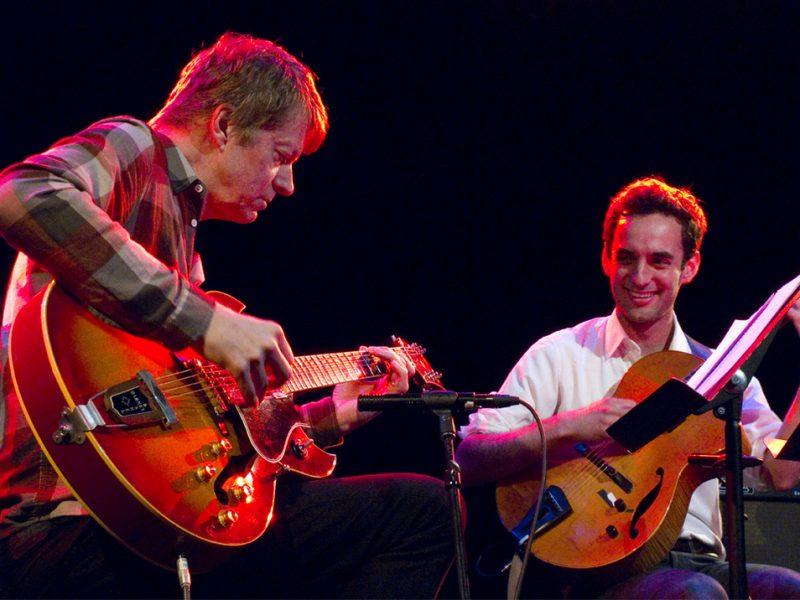 Nels Cline, Julian Lage, Le Poisson Rouge, NYC, 5-25-12