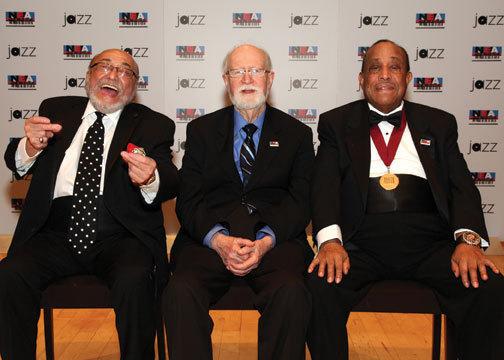 2013 NEA Jazz Masters awardees Eddie Palmieri, Mose Allison and lou Donaldson