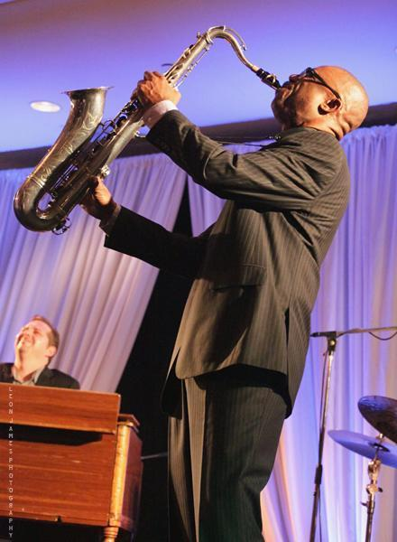 Paul Carr & Pat Bianchi in performance at the 2013 Mid Atlantic Jazz Festival in Rockville, Maryland