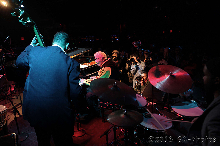 Monty Alexander Harlem-Kingston Express at Le Poisson Rouge, NYC Winter Jazzfest 2013
