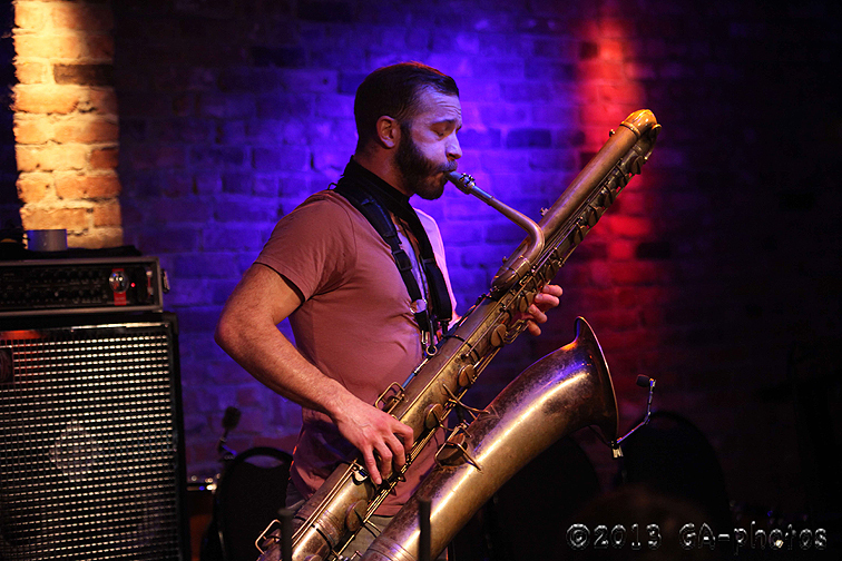 Colin Stetson at the Bitter End, NYC Winter Jazzfest 2013
