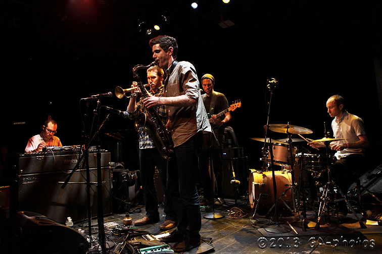 Kneebody at the Culture Project Theater, NYC Winter Jazzfest 2013