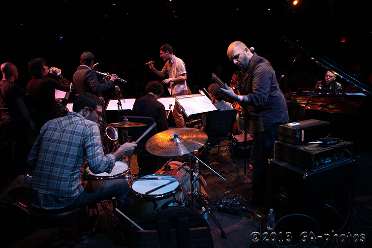 Jason Lindner Breeding Ground at the Culture Project Theater, NYC Winter Jazzfest 2013