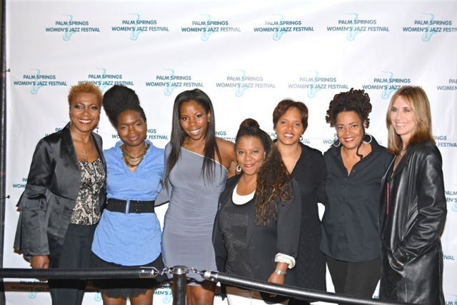 Carmen Lundy, Mimi Jones, Tia Fuller, Patrice Rushen, Terri Lyne Carrington, Sweet Baby J'ai and LInda Taylor