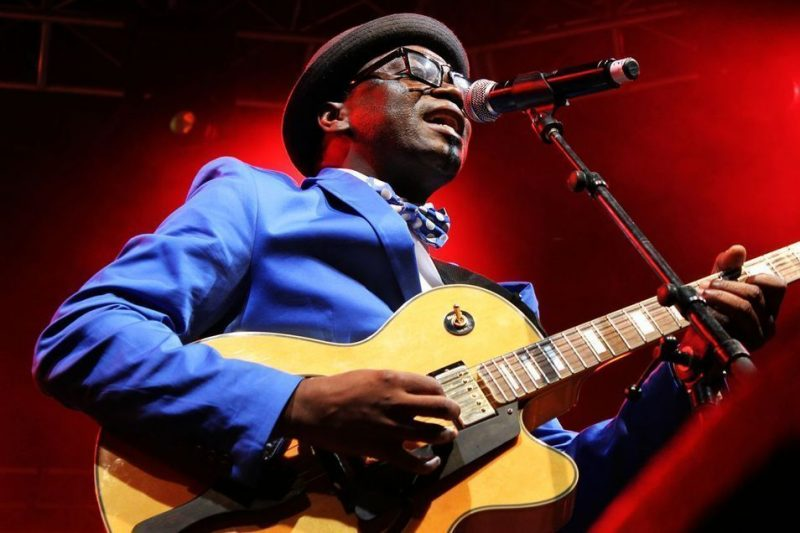 Jimmy Dludlu, 2013 Cape Town International Jazz Festival