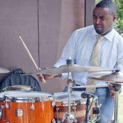 Kendrick Scott at Freihofer's Jazz Festival at Saratoga Springs image 0