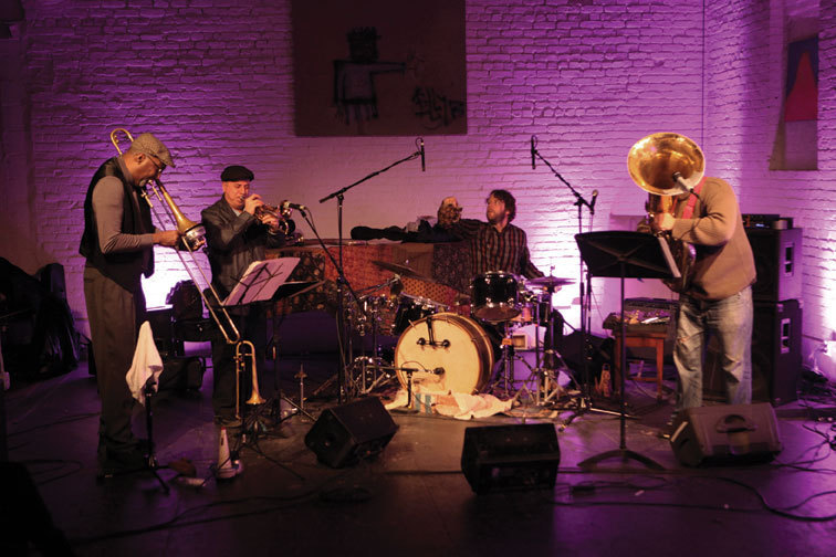 Billy Martin's Wicked Knee at ShapeShifter Lab, December 2012