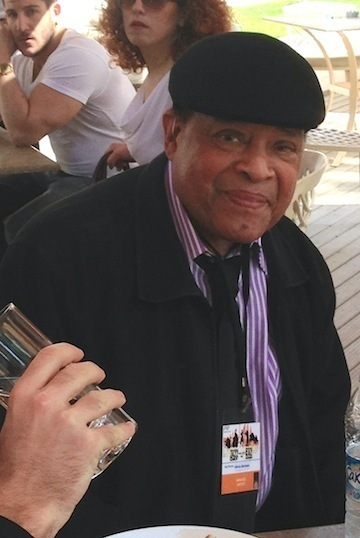 Al Jarreau prior to press conference for International Jazz Day, Istanbul, 4-13