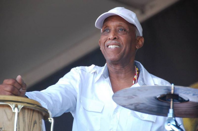 Bill Summers at New Orleans Jazz Fest 2013