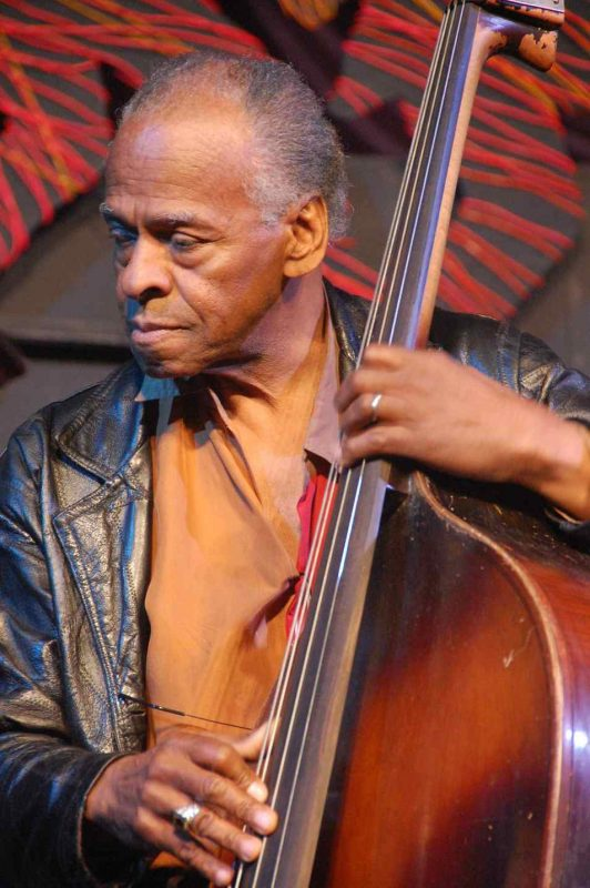 Cecil McBee at New Orleans Jazz Fest 2013