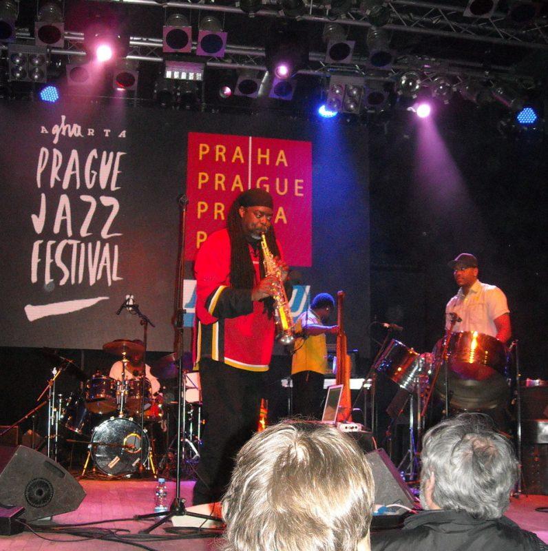 Courtney Pine live in Prague at the Prague Jazz Festival