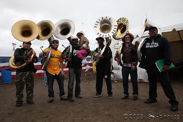 Kirk Joseph's Tuba Tuba at New Orleans Jazz Fest 2013